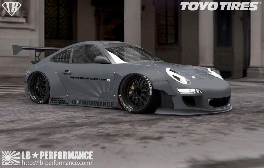 Porsche 911 Widebody And Lamborghini Aventador By Liberty