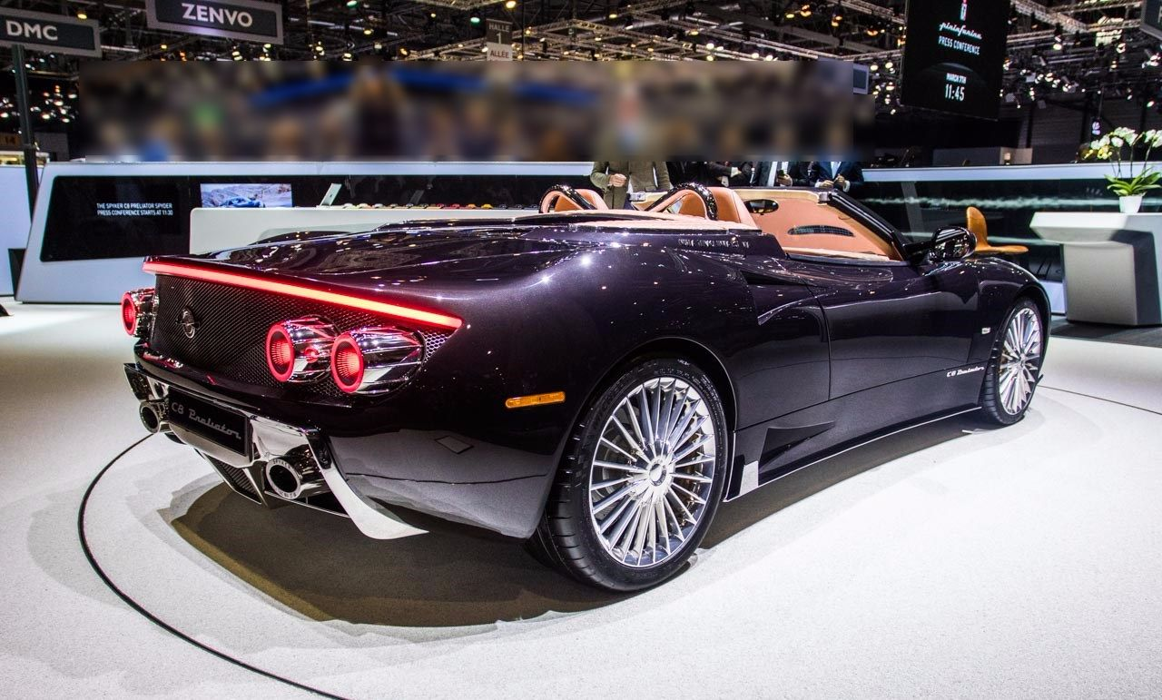 Bentley Bentayga For Sale >> Spyker C8 Preliator Spyder