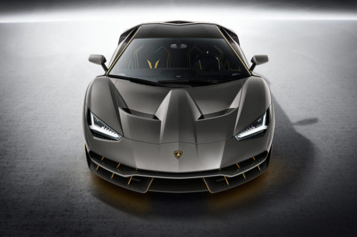 Rumors about the electric hypercar of Lamborghini