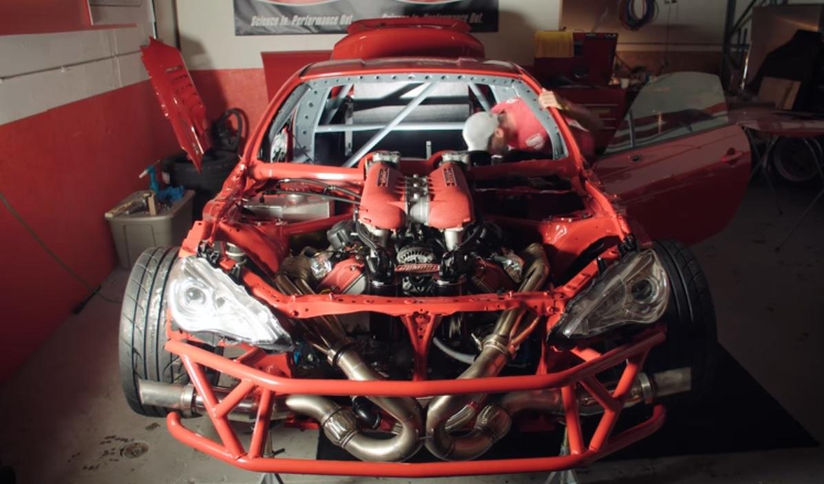 Japanese Car Brands >> Toyota GT86 with a Ferrari V8 engine