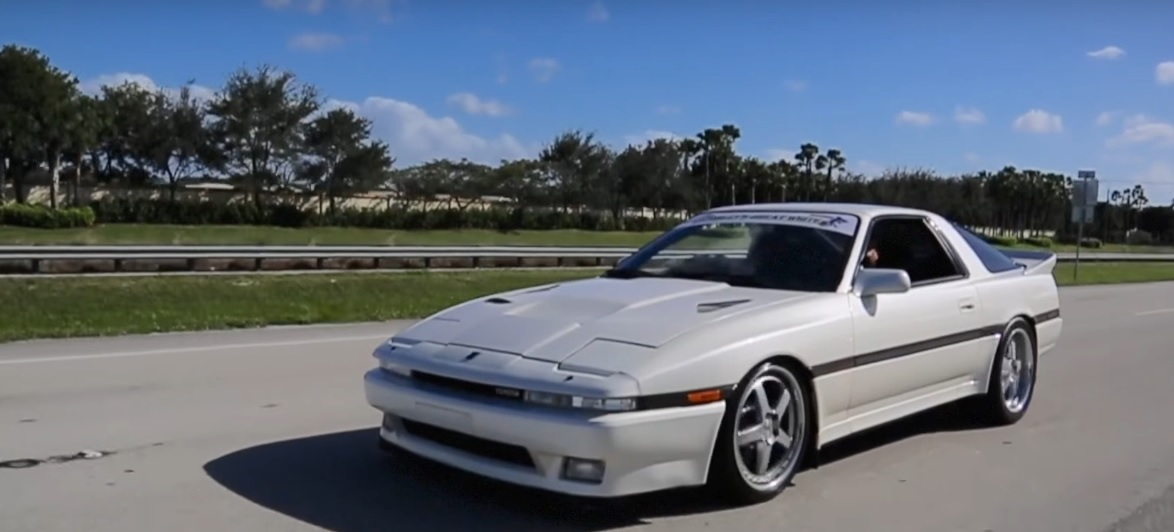 A Modified Toyota Supra Mk3 That Produces 1 600 Hp