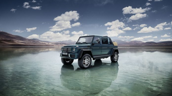 Mercedes-Maybach G650 Landaulet officially presented