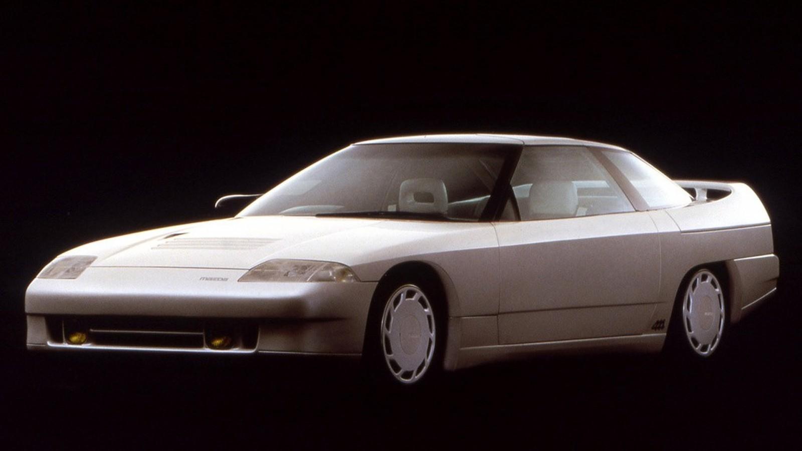 Old Concept Cars Mazda Mx 03