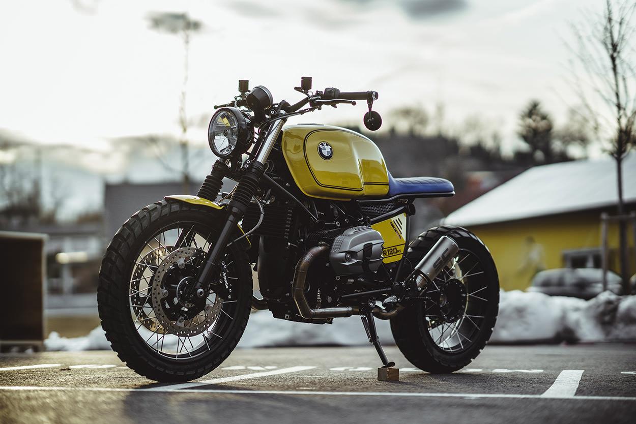 bmw r ninet scrambler by nct motorcycles