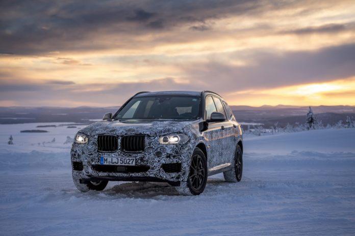 BMW teases the new X3, through official spy photos