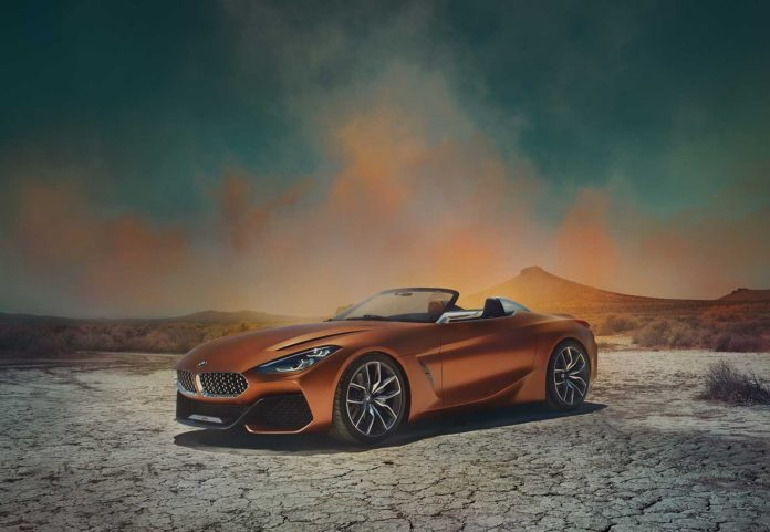 Leaked pictures of the BMW Z4 Concept