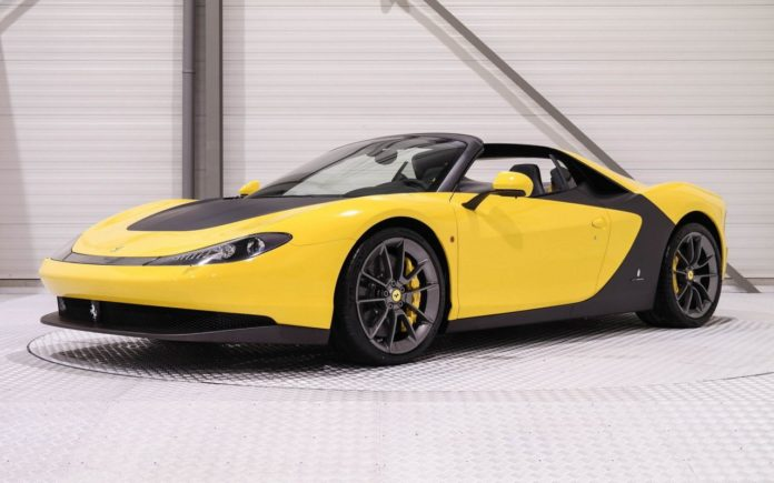 One of the Six Ferrari Sergio is up for sale