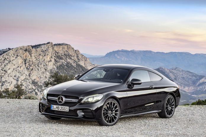 Mercedes C-Class Coupe and Cabriolet facelift